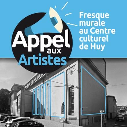 Appel aux artistes - Fresque au Centre culturel de Huy