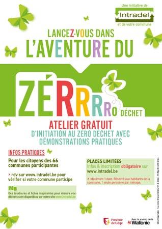 Atelier zéro déchets - Inscrivez-vous !