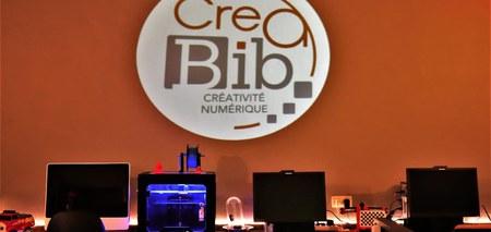 CréaBib, un nouvel espace de créativité numérique !