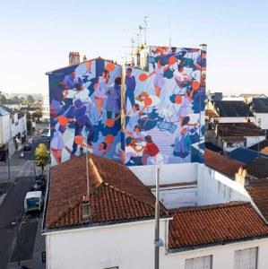 De l'art en couleurs au centre-ville