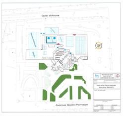 Plan rénovation piscine de Huy