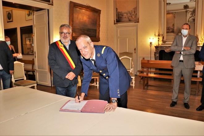 Jean-Marie Dradin nouveau chef de corps de la police