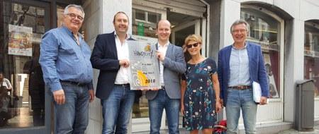 La Ville de Huy a reçu ce vendredi le label Handycity