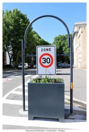 La zone 30 d'application dèsce mercredidans le centre-ville de Huy
