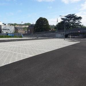 Le nouveau parking est accessible!