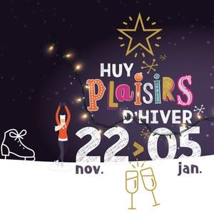 Les Plaisirs d'hiver sont de retour à Huy !