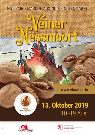 Marché aux noix de Vianden le 13 octobre