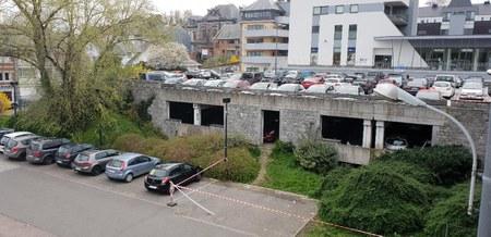 Parking du Quadrilatère : les caméras sont en cours de placement