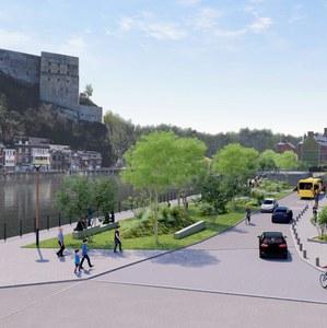 Présentation de l'aménagement de l'esplanade Batta