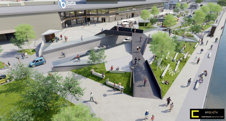 Projet esplanade Batta