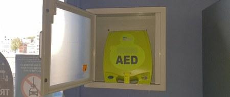 Sept défibrillateurs supplémentaires