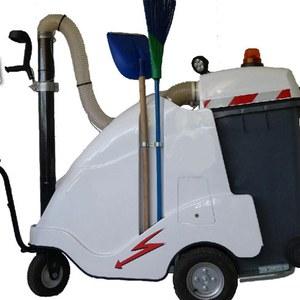 Un aspirateur de déchets urbains partagé