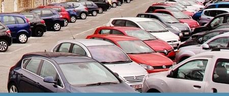 Un parking de 400 places - A la gare de Huy