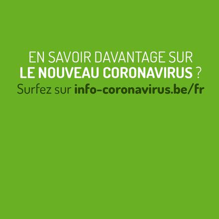 Vous cherchez des informations sur lecoronavirus?