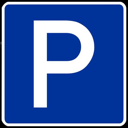 Zone bleue et cartes de stationnement