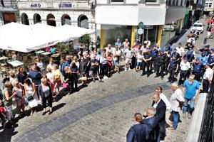 Hommage aux victimes de l'attentat de Liège (30/5/2018)