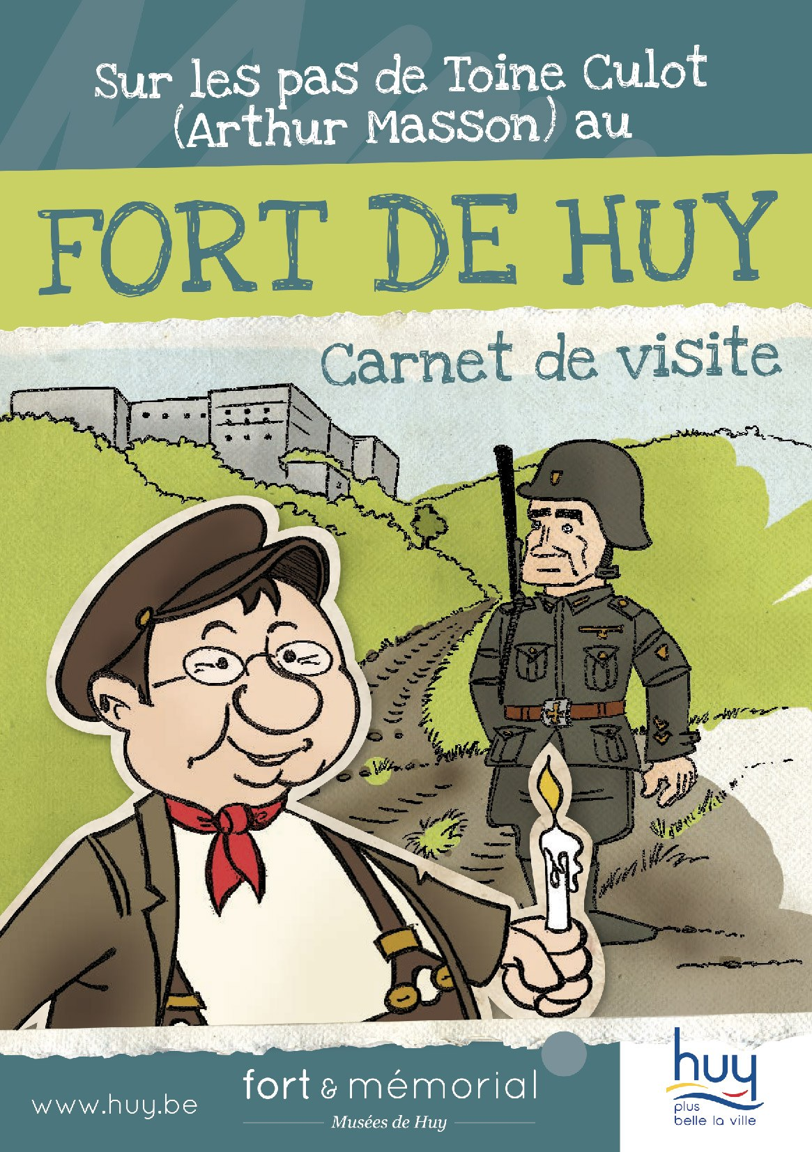 MUSEE FORT TOINE carnet visite FR 2019 cover