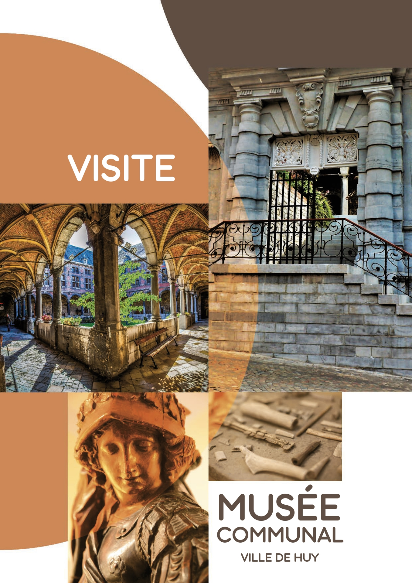 MUSEE MUSEE COMMUNAL brochure a4 visite salles COVER